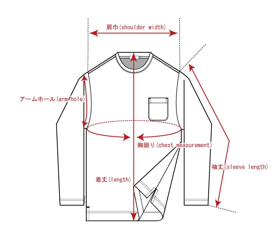 Tシャツ・トレーナー(長袖)